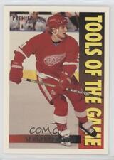 1994-95 Topps Premier #276 Sergei Fedorov Detroit Red Wings Hockey Card