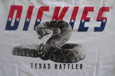 "Dickies  - ""RATTLER"" - White -  Mens Crew Neck TShirt - NWT"