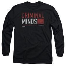 CRIMINAL MINDS TITLE CARD T-Shirt Men's Long Sleeve