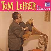 Tom Lehrer In Concert (CD)