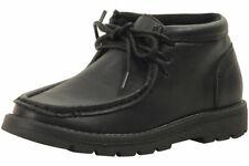 Easy Strider Boy's The App Pro Ankle Boots School Uniform Black Shoes