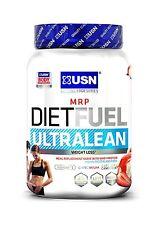 USN Ultralean Dieta Combustible un control de peso reemplazo de comidas agitar Powder 1Kg