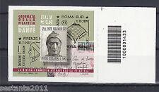 ITALIA 2011, GIORNATA FILATELIA CODICE A BARRE 1433, MNH ** A68 LEGGI PROMOZIONE