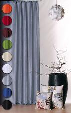 Dekoschal Vorhang halbtransparent Übergardine Kräuselband Gardine #384