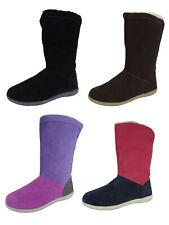 Crocs Womens Adela Foldover Fuzz Bootie Shoes