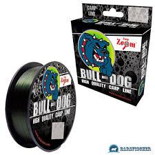 (0,03 €/m) 300m Carp Zoom Bull-Dog CARP LINE VERDE carpa filo lenza MONO