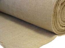 NATURAL JUTE BURLAP HESSIAN COARSE SACKING CLOTH UPHOLSTERY LINING 10oz Fabric