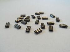 8mm Pesca Doppio Crimps per Rig Making-dimensioni 1.0 mm, 1,2 mm E 1.5 mm FORO