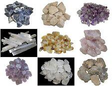 Rough Quartz Crystals Raw Natural Rock Mineral Specimen Unpolished Stone 100g