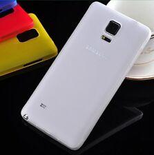 Samsung Note 4 n9100 COLORE A SCELTA ULTRA SLIM CASE 0,3mm SUPER sottile COVER GUSCIO MATT