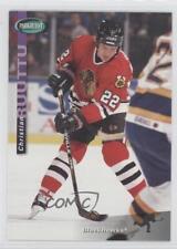 1994-95 Parkhurst #42 Christian Ruuttu Chicago Blackhawks Hockey Card