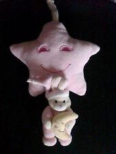 doudou musical boite musique lapin rose étoile GIPSY (2 dispo)