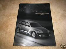 2002 Chrysler PT Cruiser Touring Limited sales brochure dealer auto literature