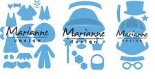 Marianne Design Creatables Troquelado Realzar Stencil Kim's amigos y Niñas/Niños