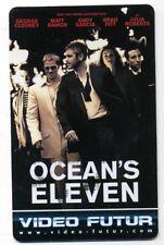 VIDEO FUTUR carte collector  OCEAN'S ELEVEN  (200)