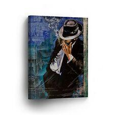 Modern Oil Painting on Canvas Print Wall Decor Art Framed %100 Handmade OPV12