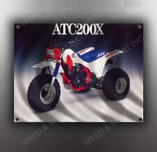 VINTAGE HONDA ATC200X THREE WHEELER BANNER