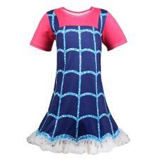 New Kids Girls Vampirina Cartoon Dress Holiday Party Cosplay Costume ZG9