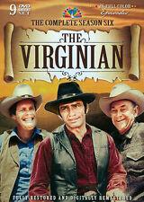 NEW/SEALED -The Virginian: Complete Season Six (DVD, 2012, 9-Disc Set, Tin Case)