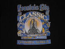 FOUNTIAN CITY COLUMBUS,GA BRAWL FOR IT AL RAMS VS WILDCATS T-SHIRT NAVY BLUE XL