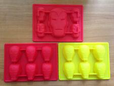 Iron Man Silicone Cake Ice Chocolate Crayon Fondant Soap Mold Mould Comic FUN
