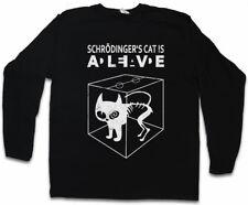 SCHRÖDINGERS CAT IS ALIVE DEAD II LANGARM T-SHIRT The Big Schroedinger Katze