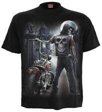 SPIRAL DIRECT CAVALIERE OSCURO T-Shirt,Mietitore/Biker/Skull/Indumenti DARK/Bike