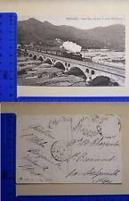 VENTIMIGLIA (IM) - NUOVO PONTE CON TRENO IN ARRIVO DALLA FRANCIA - RARA - 18992