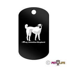 I Love My Anatolian Shepherd Engraved Keychain Gi Tag dog Many Colors