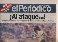 EC III 92/93 Real Zaragoza - Borussia Dortmund Ebt