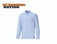 Dickies Oxford Weave Long Sleeved Shirt, Blue