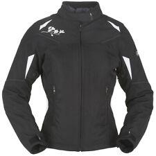 Furygan Ladies Seven Evo Lady Textile Motorcycle Jacket - Black / White