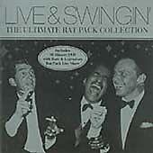 FRANK SINATRA - RAT PACK LIVE & SWINGIN' - CD & DVD SET NEW (FREE UK POST)