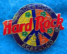 ACAPULCO MEXICO PURPLE PEACE CAMPAIGN SYMBOL LOGO SERIES Hard Rock Cafe Rock PIN