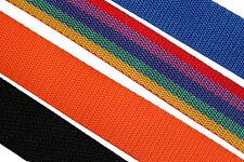 Gurtband Meterware Gurt 30mm breit - freie Farbwahl