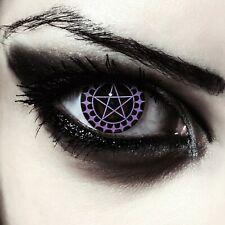 Kuroshitsuji Black Butler Contacts for Ciel Phantomhive Cosplays Costume lenses