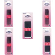 Hemline Black General Purpose Knitted Elastic 12mm, 20mm, 25mm, 32mm, 40mm