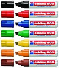edding 800 Permanentmarker Strichbreite 4-12mm Keilspitze Farbe wählbar