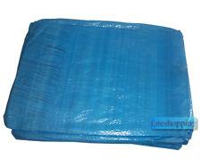 Telone occhiellato telo impermeabile copritutto copertura legna anti UV 65 gr/mt