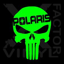 Polaris RZR Punisher Skull Dicut Vinyl Decal 3 SIZE14COLOR 800 1000 900 RMK SKS