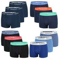 GANT 3er Pack Herren Boxershorts, Trunks Pants Short Boxer Unterhosen, Neu, Navy