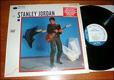 STANLEY JORDAN Magic Touch LP Blue Note Sticker SW/NM