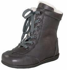 Zecchino d'Oro N3-390 2783 Lammfell Stiefel Boots Leder Budapester 24-27 Neu
