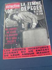 Détective 1967 1106 MOLSHEIM PECQ PLESSé LAUNOIS SUR VENCE AUNEAU SIGNY L'ABBAYE