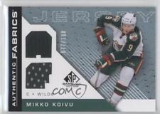2007-08 SP Game Used Edition Authentic Fabrics Rainbow #AF-MK Mikko Koivu Card