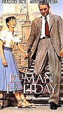 Roman Holiday  (VHS,1999) B&W. New Factory Sealed.Free Ship