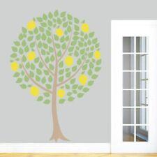 Lemon Tree Printed Wall Decal - Fruit, Summer, Spring, Kitchen, Dining Room, Art