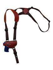 NEW Barsony Burgundy Leather Shoulder Holster Colt, Browning Mini-Pocket 22 25