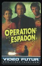 VIDEO FUTUR carte collector  OPERATION ESPADON  (194)
