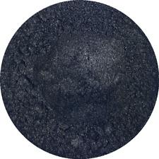 Black Sparkle Cosmetic Mica Powder 3g-50g Pure Soap Bath Bomb Colour Pigment
